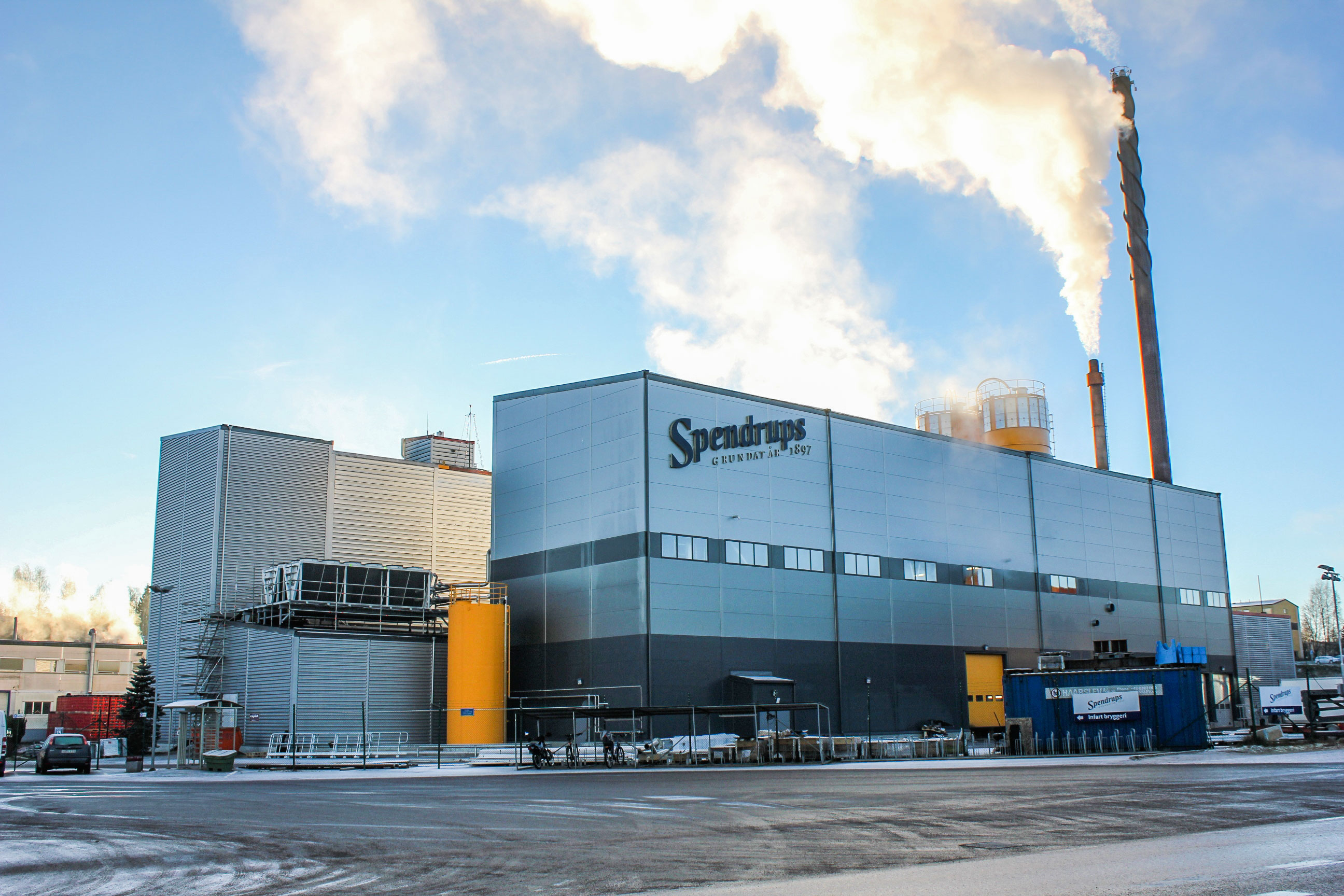 Spendrups Sweden Factory