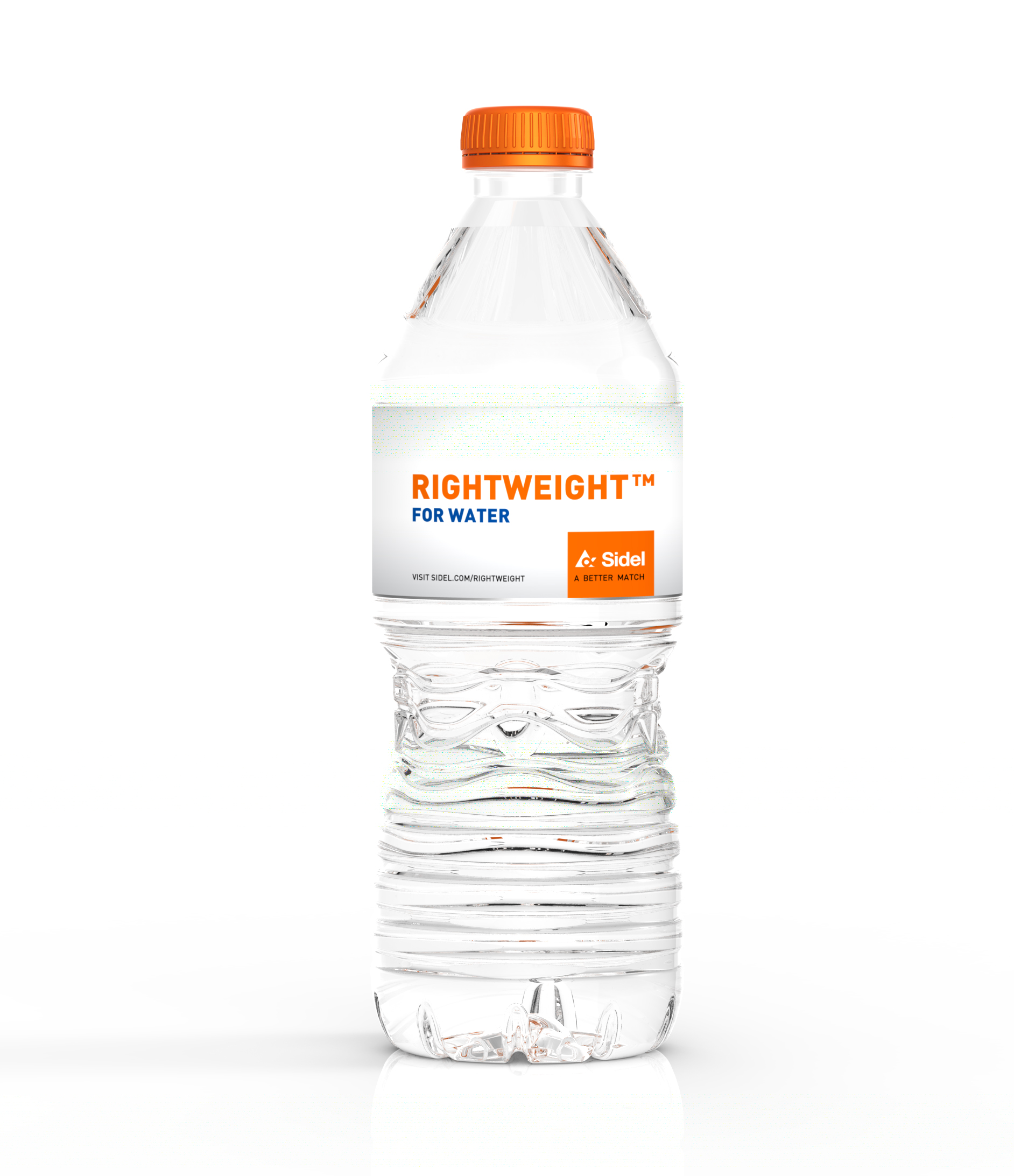 Rightweight bottle water