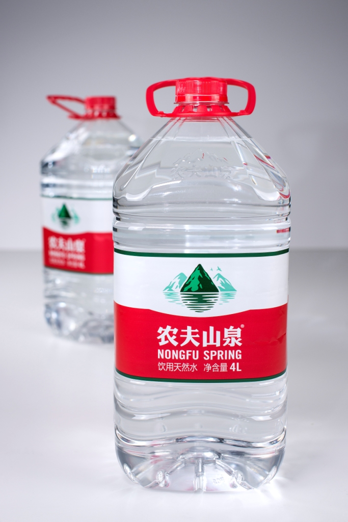 Nongfu, China bottle